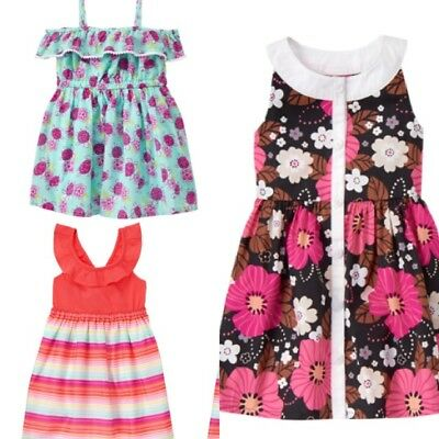 NWT Gymboree ISLAND GIRL Sz 2T or 3T Floral Dress /& Hair Clips