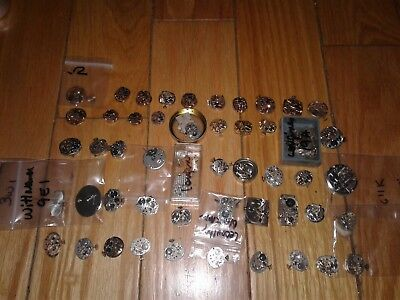 Large Lot of 50+  Vintage Ladies Mechanical Watch Movements Longines Omega tudor