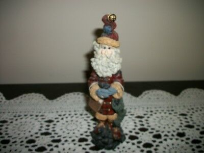 Boyds Bears & Friends Folkstone Collection No No Nick Santa Claus 7 1/2""