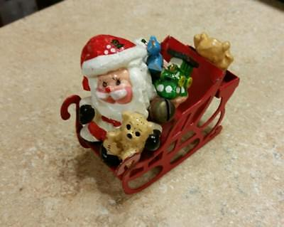 LUCY RIGG 1978  Santa Sleigh and Toys