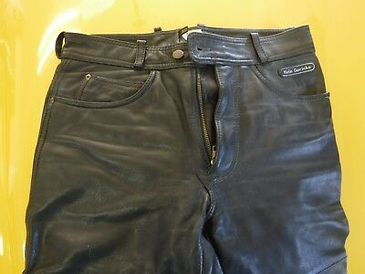 Vintage, Mens, Hein Gericke 32x311/2 Leather Motorcycle Pants