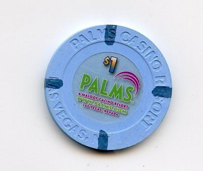 1.00 Chip from the Palms Casino in Las Vegas Nevada website