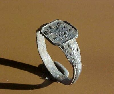 Ancient Silver  Ring Size 10 1/2