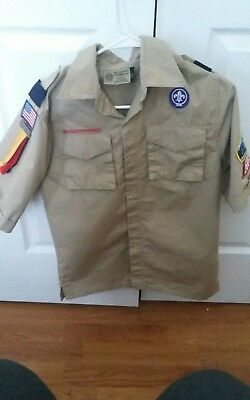 Pre-owned Boy Scout shirt large
