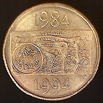 1994 'C' Mintmark One Dollar ($1) 'Anniversary of the $1 Note'Coin: Unc
