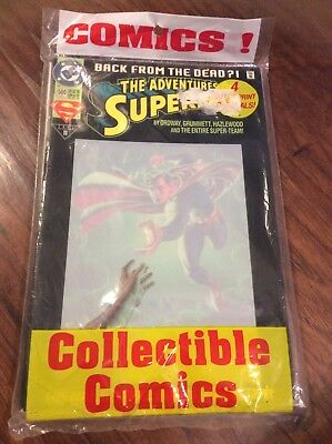 4 Pack Out Of Print Originals! Collectible Comics, (1993) Superman # 500, Sealed