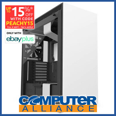 NZXT ATX H700i White Tower Chassis (No PSU) PN NZT-CA-H700W-WB
