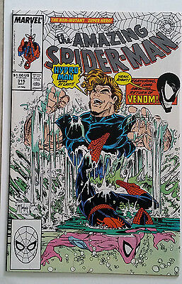 AMAZING SPIDER-MAN #315 Todd McFarlane art Hydro-Man Venom returns