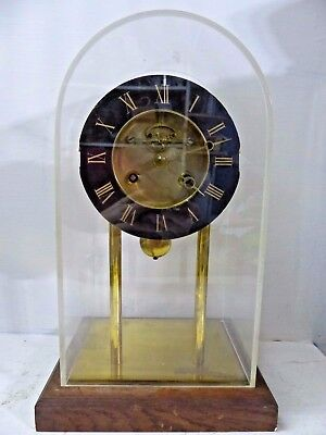 Large Old Skeleton Clock - Modernist Design - Visible Escapement- Rare - L@@k