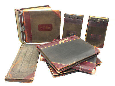 Early 1900's VAN NOSTRAND SADDLERY CO Iowa Ledger Books Purchase Orders / Sales