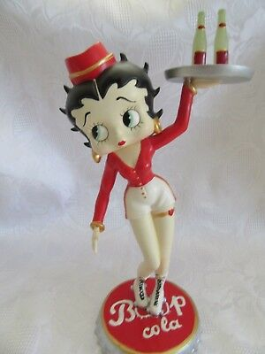 "Betty Boop Cola 2005 Figurine  Fleischer Studios 6780""  9.5"" High ~GORGEOUS~RARE"