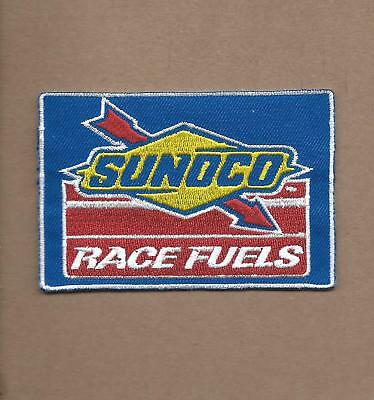 New 2 1/2 X 3 5/8 Inch Sunoco Race Fuels Iron On Patch Free Shipping A