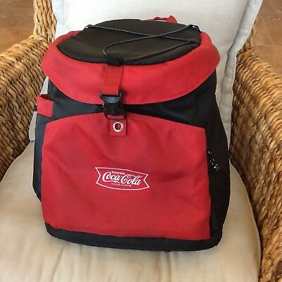 Coca Cola Insulated Backpack Cooler coca-cola.