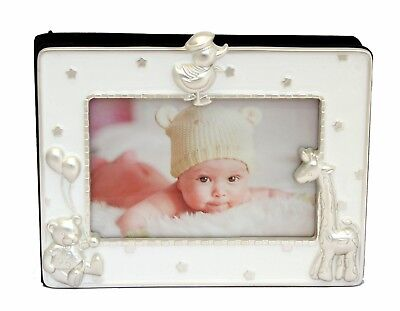 Baby Boy Girl  White/silver Newborn Christening Naming Day Baptism Photo Album