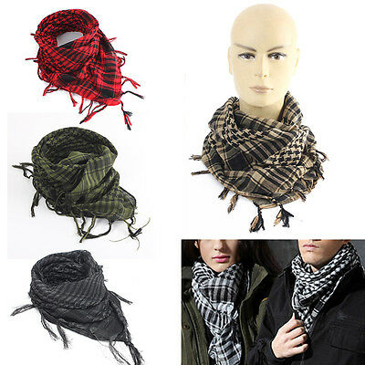Lightweight Military Arab Tactical Army Shemagh KeffIyeh Scarf Check Wrap Sports