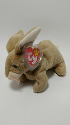 Nibbly TY beanie baby in mint condition