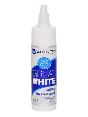 Walker Tape Great White 1.4oz Hair Glue Adhesive - Wig, Toupee, Hairpiece