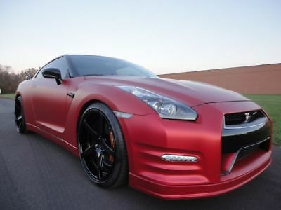 2012 Nissan GT-R Black Edition 2012 NISSAN GT-R GTR BLACK EDITION FORGED WHEELS 700 AWHP  WE FINANCE MAKE OFFER