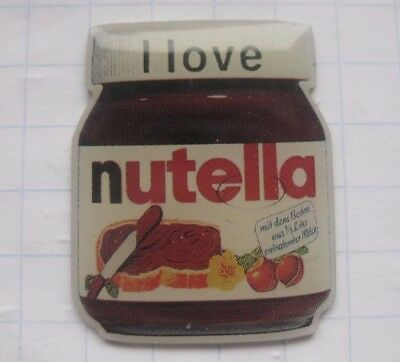 I LOVE NUTELLA ........................Süsswaren  Pin (166f)