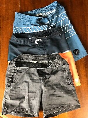 3 Pairs of MUNSTER boys shorts Size 12