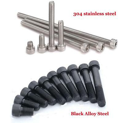 10x M3-M8 12.9Grade Alloy Steel / Stainless Allen Hex Socket Cap Head Screw Bolt
