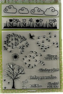 For All Seasons Stamp & Embossing Set..