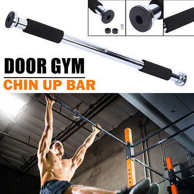 On Door Chin Up Bar Portable Home Gym Pull Up Doorway Exercise Workout Fitness