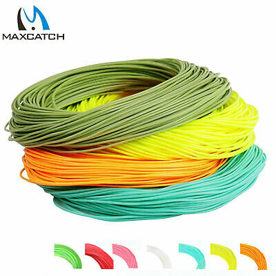 Maxcatch Fly Fishing Line Weight Forward 100FT 1/2/3/4/5/6/7/8/9/10WT Floating