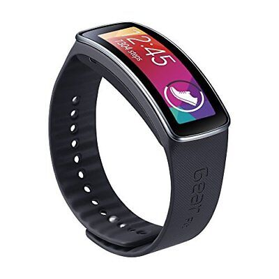 Smartwatch Replacement Band for Gear Fit - Black
