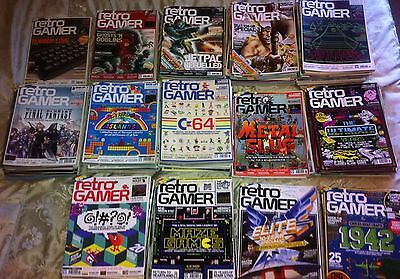Retro Gamer Magazine - Every single back issue!