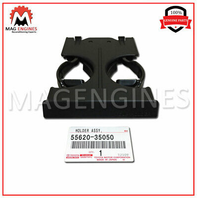 55620-35050 Genuine Oem Dual Pull Out Cup Holder Dash Mounted 5562035050