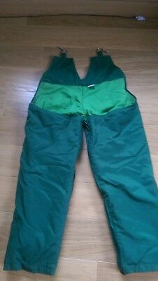 stihl chainsaw trousers used and new gators
