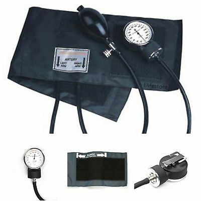 New Adult Aneroid Sphygmomanometer Manual Blood Pressure Monitor Scanner Machine