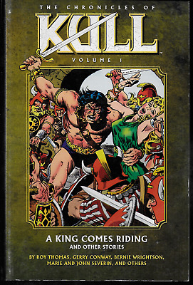 Chronicles of Kull Vol 1-5 by Thomas, Conway, Wrightson & more Marvel DH TPBs