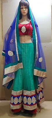 Indian Bollywood Style Party Wear Lengha Blouse