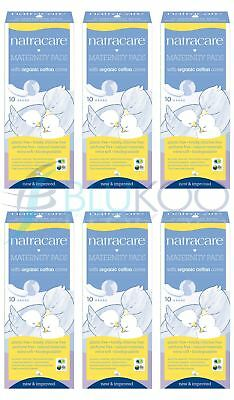 Natracare New Mother Maternity Pads - 10 Pieces (Pack of 6)