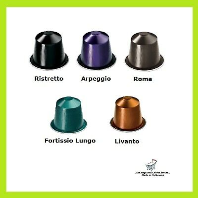 50 Capsules Nespresso Most Popular Flavours Variety Pack Coffee Pods Top 5