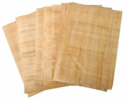 10 BLANK PAPYRUS WHOLESALE LOT EGYPTIAN ORIGINAL HAND MADE 12x16in 30x40cm