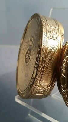 Gold gilded oval table box shell covered interior circa Eighteenth century