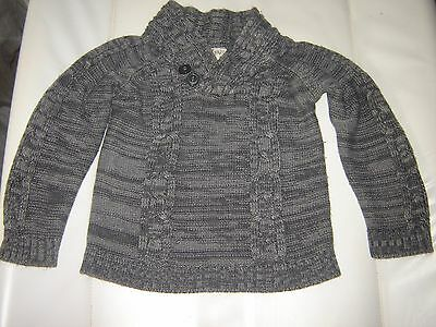 pull fin gris 9-12 mois