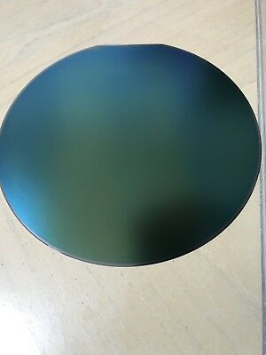 "Various 8"" 200mm Silicon Wafer 25 Count Boat Test Wafers with Oxides"