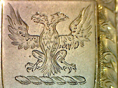 Victorian Solid Silver Fob Medal Chester 1888 Aberdeen Pigeon Racing Engraved