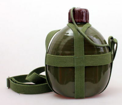 Chinese Pla Army 87 Style Canteen Water Bottle 1.2L
