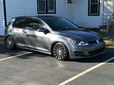 2015 Volkswagen Golf TSI 2015 VW Golf TSI turbo Tastefully Modified
