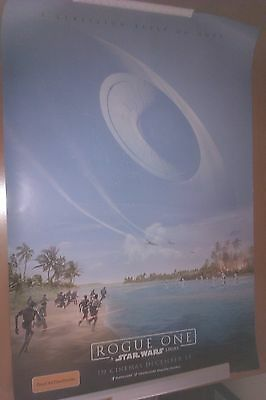 Rogue One STAR WARS CINEMA Poster Double-Sided 100cm x 70cm Genuine Variant 1