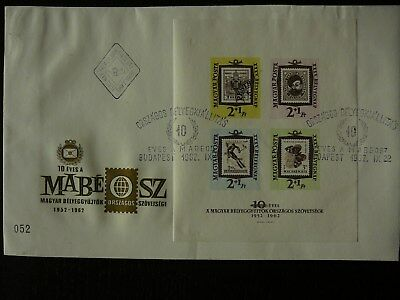 1962  Tag der Briefmarke Mi.: Block 36 B   FDC