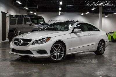 2014 Mercedes-Benz E-Class E350 Coupe MSRP $60,280.00 AMG SPORT PACKAGE. ILLUMINATED MERCEDES STAR. PANORAMIC ROOF