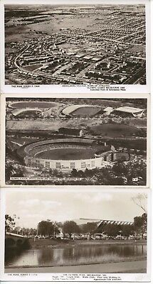 1956 XVIth OLYMPIAD - Melbourne - 4 Vintage Postcards - One with 4 Signatures