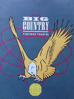 Big Country The Seer Tour Programme 1986