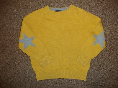 Next Mustard Yellow Long Sleeved Jumper Size Age 2-3 Years Old
